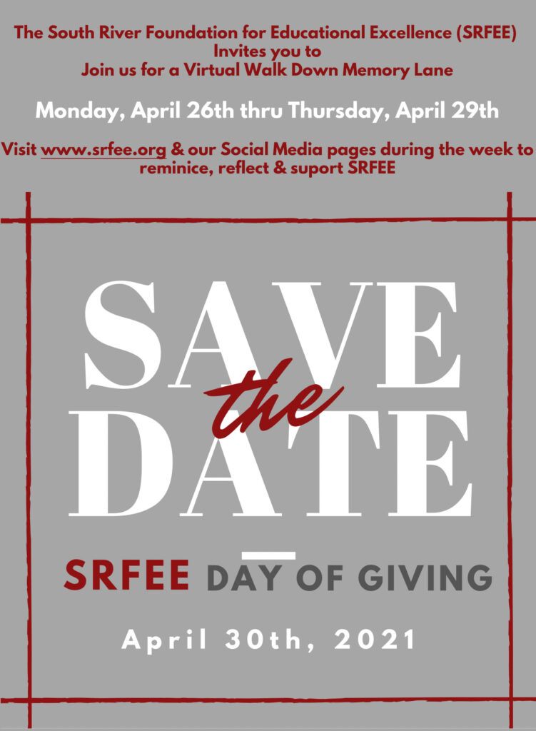 SRFEE Day of Giving Details