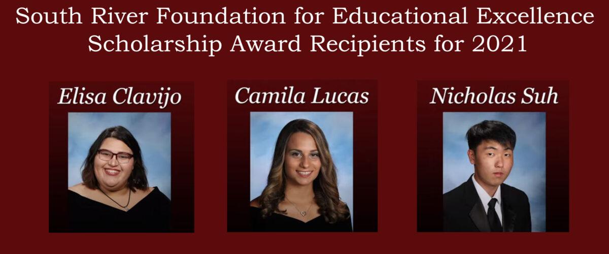 2021 srfee scholarship recipients